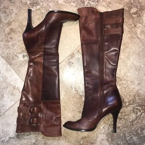 Made in Brazil Cole Haan leather boots